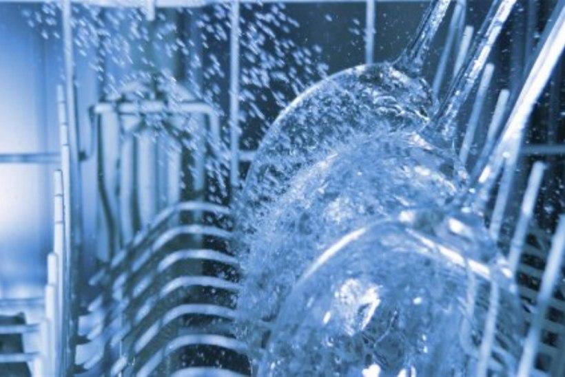 Nõudepesumasin säästab vett ja hõlbustab elu
