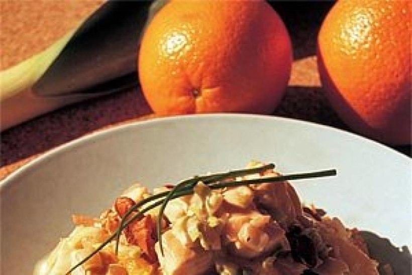 Riisisalat kana ja apelsiniga