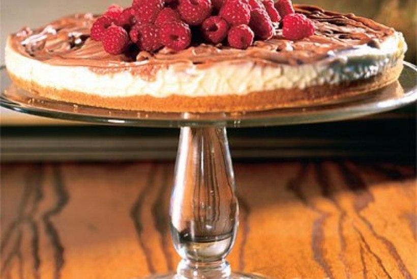 Šokolaadi-toorjuustu marmorkook