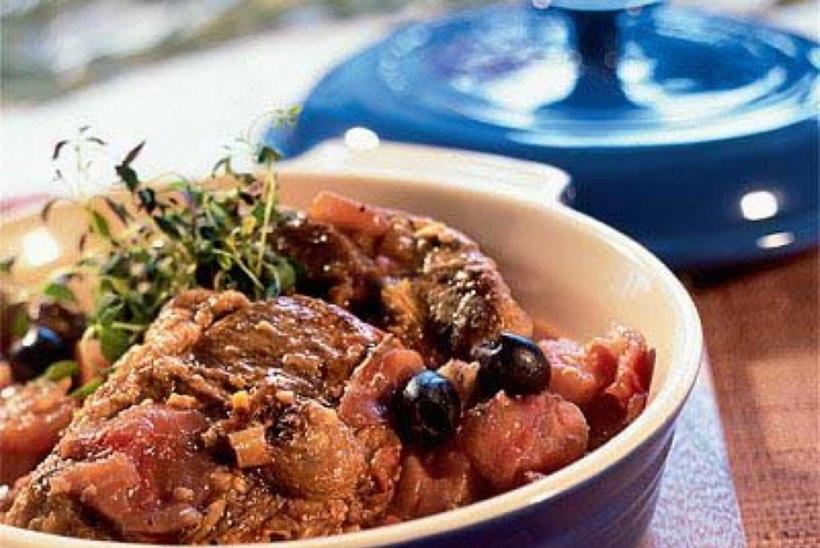 Lambahautis oliividega