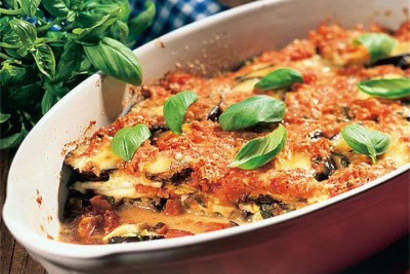 Baklažaanid parmesaniga