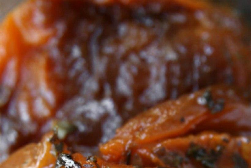 Taevalikud aeglaselt röstitud tomatid