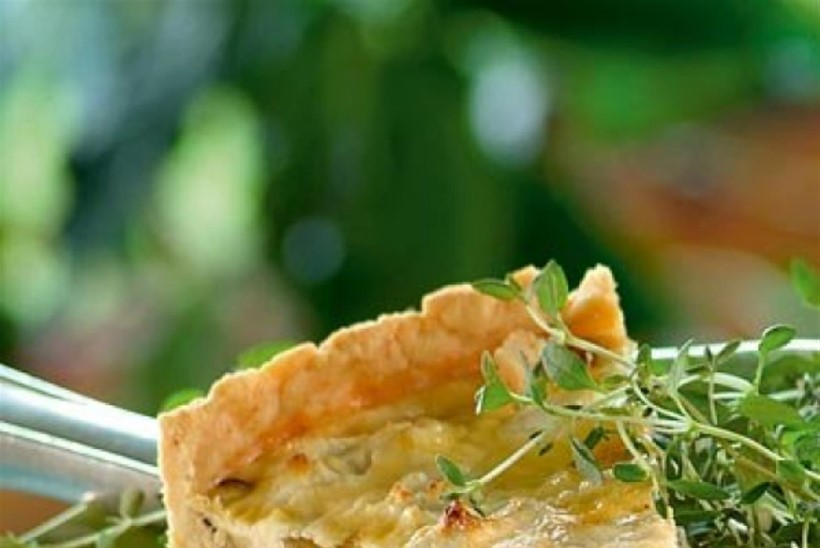Sibula-kartuli-kitsejuustupirukas