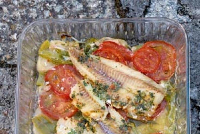 Küüslaugukala maitsevõiga