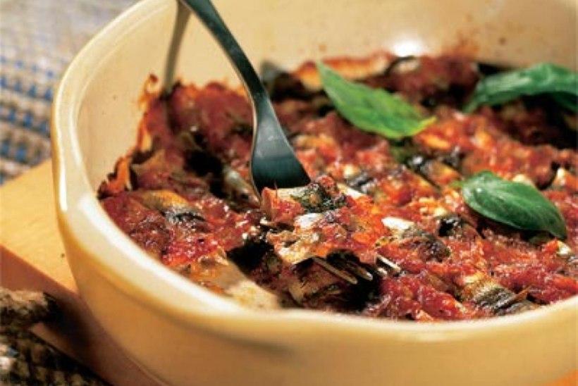 Küpsetatud tomatiräimed