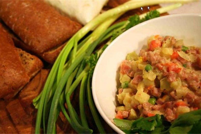 Köögivilja-chimichangas