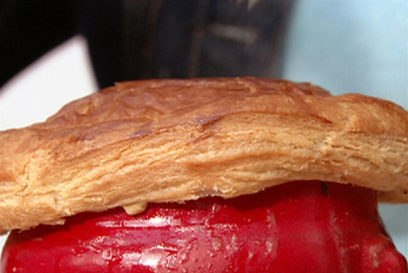 Kana-, seene- ja peekonipirukas