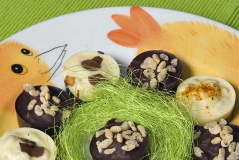 Ameerika krõbedad šokolaadimunad
