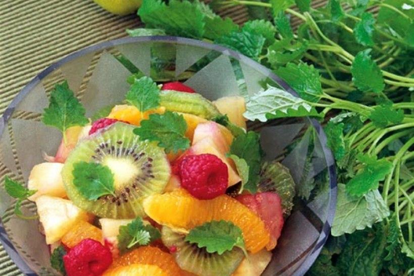 Marineeritud puuviljasalat