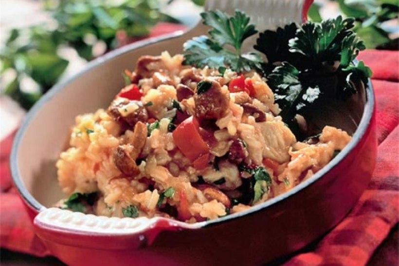 Kana-riisivokk kukeseentega