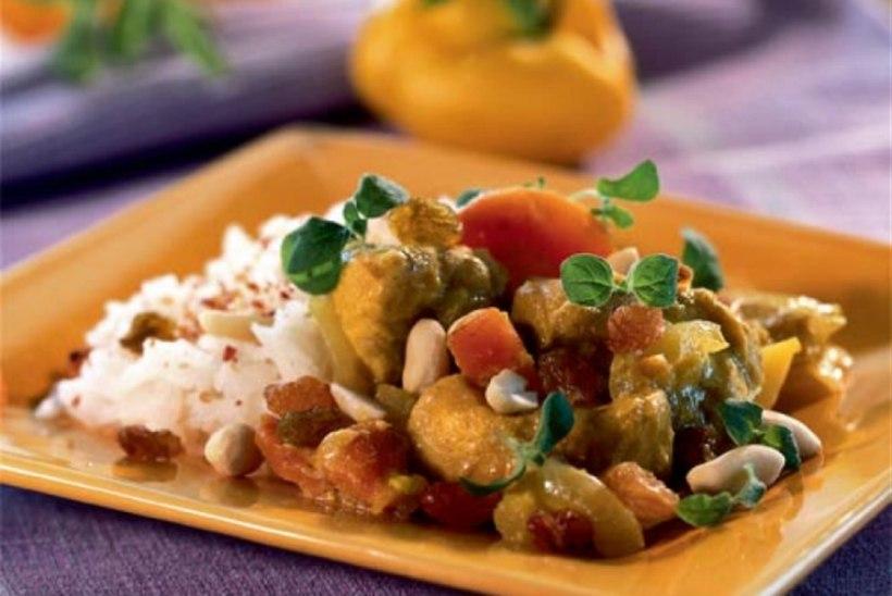 Kanakarri kartuli ja riisiga