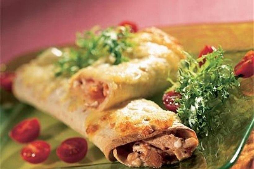 Enchilada kana ja kodujuustuga