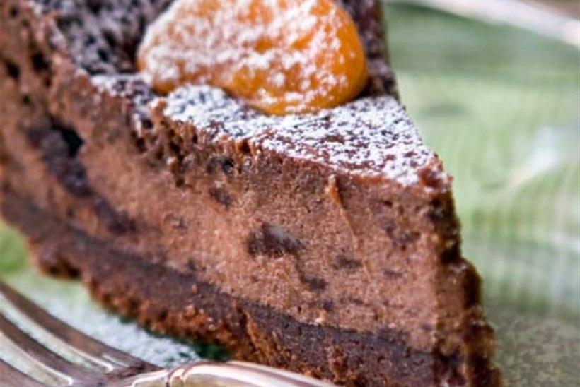 Ekstra huvitav šokolaadiga kohupiimakook
