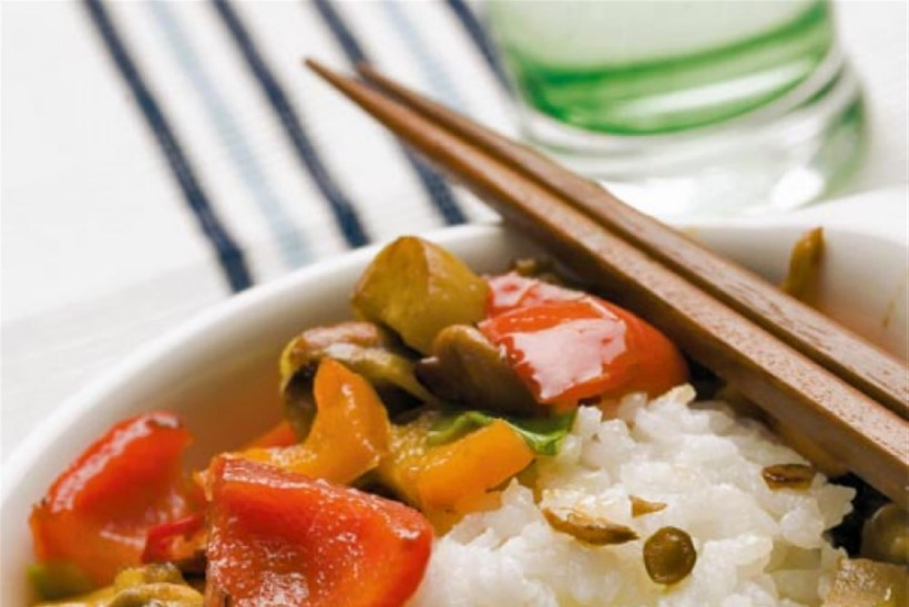 Seene-ingveri-wok