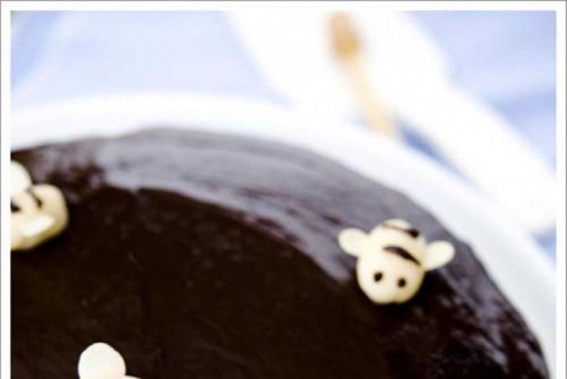 Nigella stiilis šokolaadi-meekook