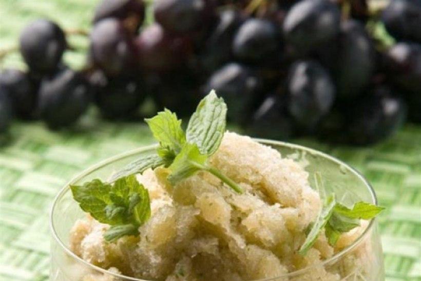 Viinamarja-granita