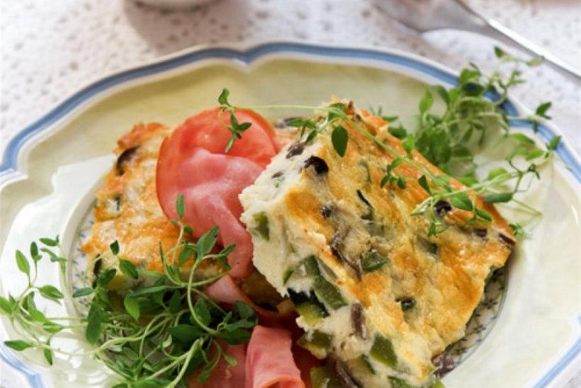 Hommikune muna-köögiviljavorm