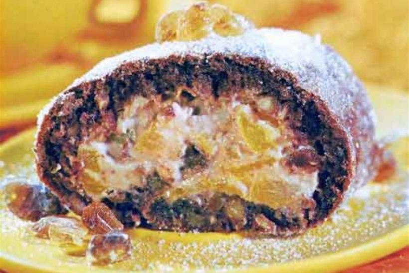 Kakaobeseerull ricotta-puuviljatäidisega