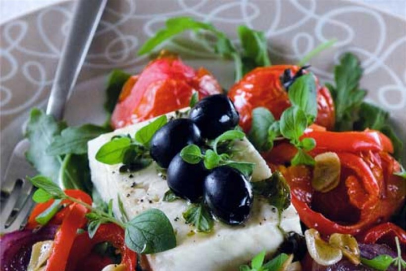 Soe köögivilja-feta salat