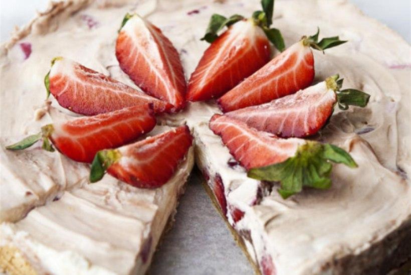 Maasika-toorjuustukook