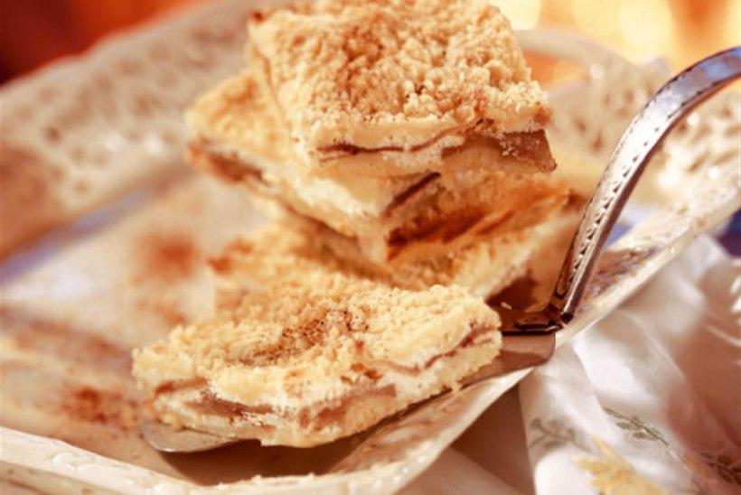 Õuna-ricotta-purukook