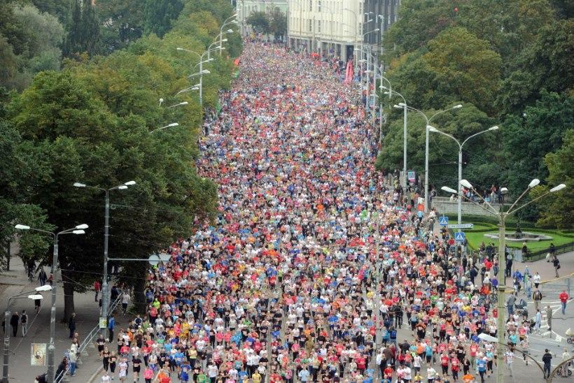 Enne maratonile minekut tuleks pool aastat treenida