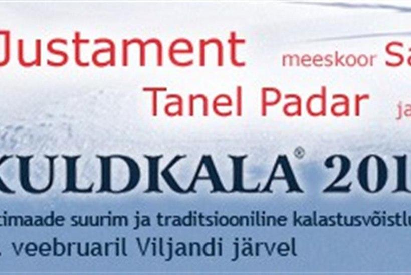 Kuldkala toob Viljandi järve jääle 10 000 inimest