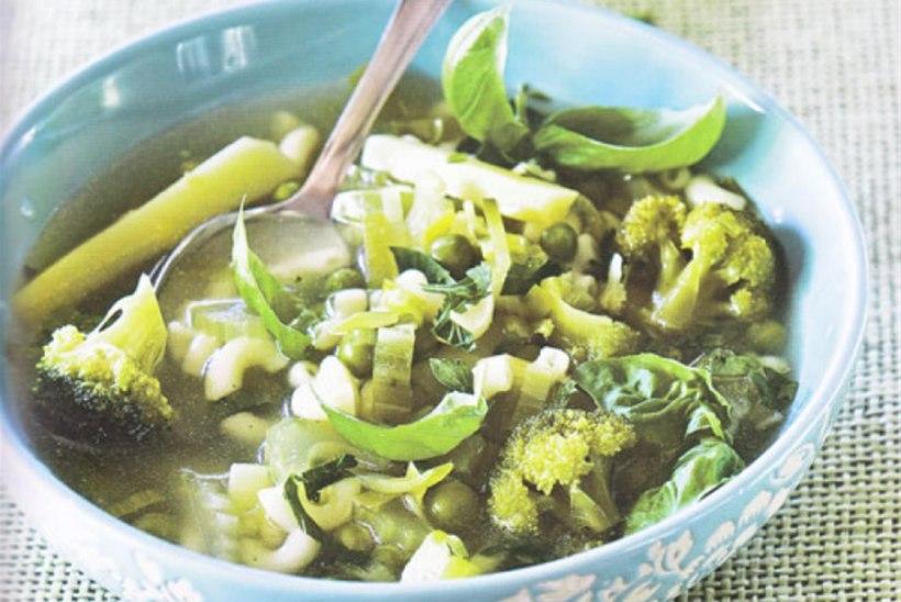Roheline minestroone