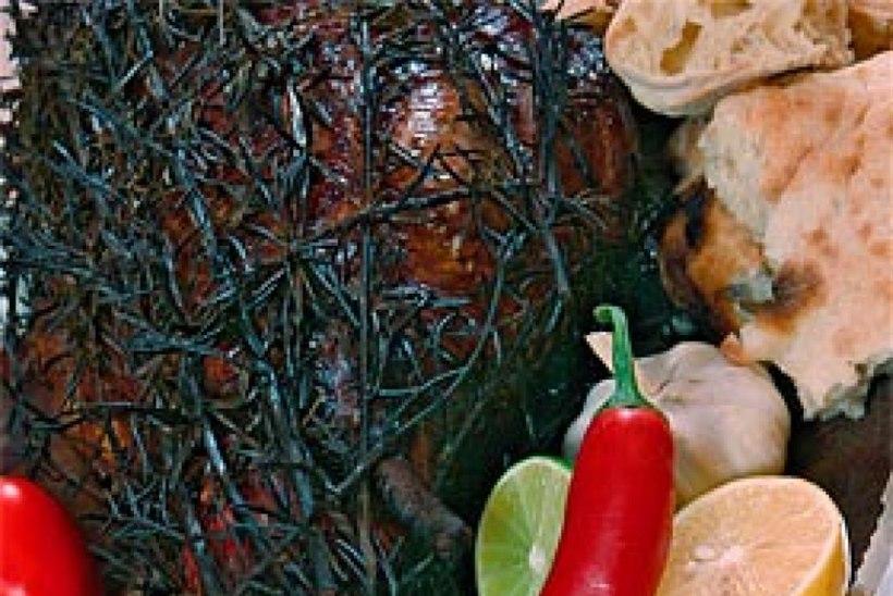 BBQ lambakints küüslaugu ja rosmariiniga