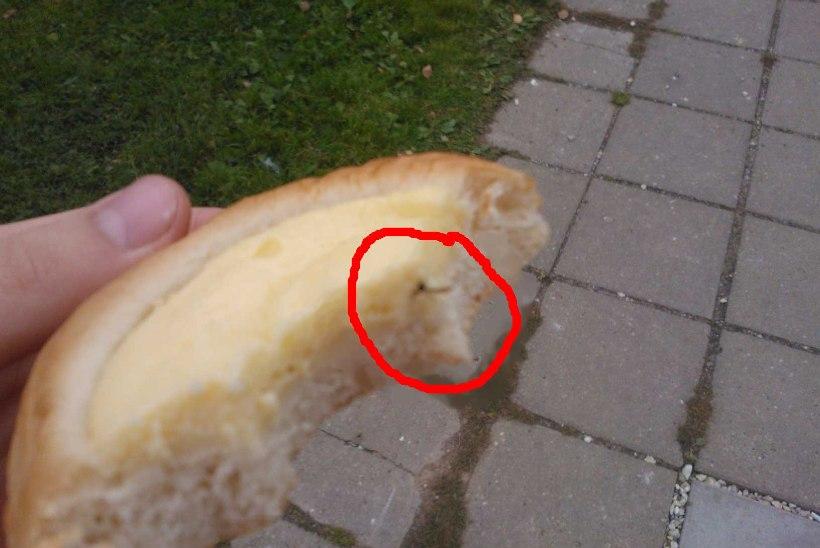 Klient leidis poest ostetud korbist putuka