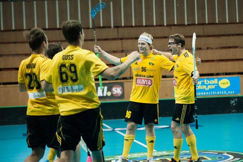 Eesti saalihokimeister alistas eurokarikal Läti meistri 2 sekundit enne lõppu visatud väravaga!