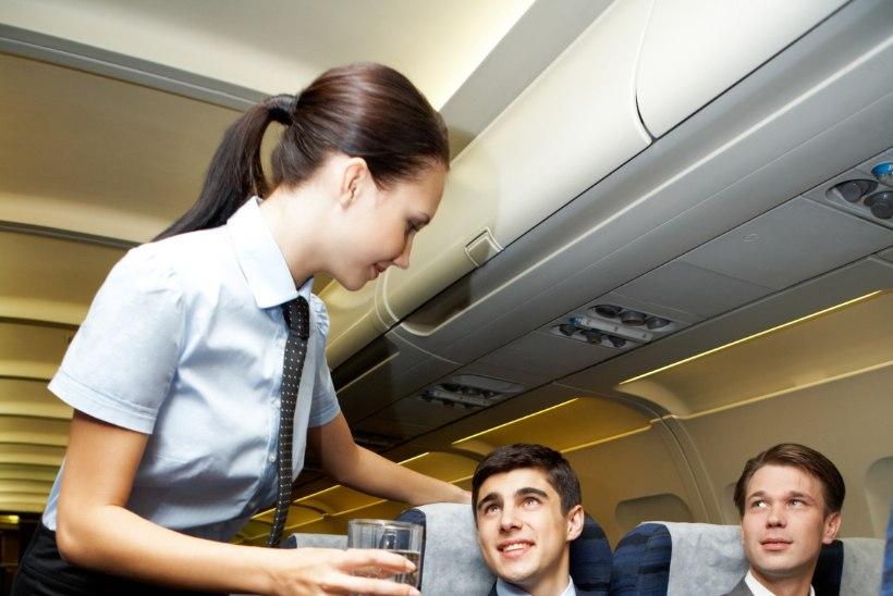 Kas stjuardess väärib jootraha?
