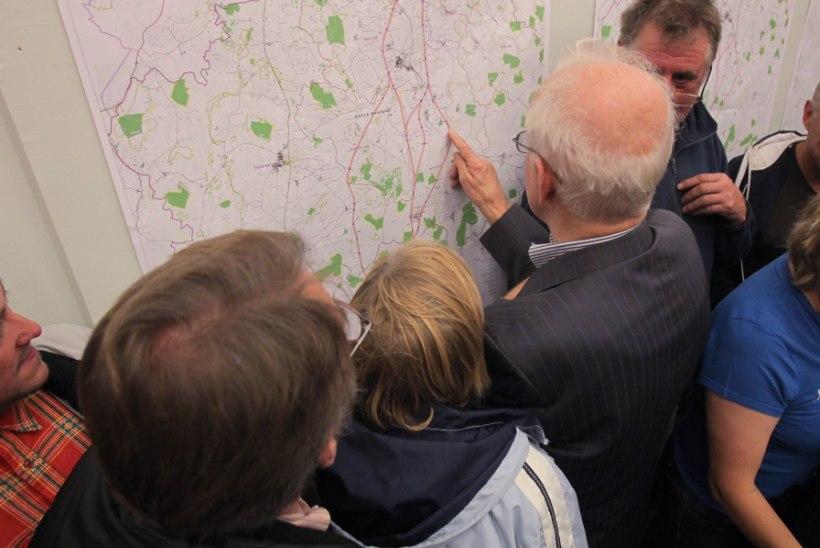 Rail Balticu alla jääva maa omanikud loodavad ausale hüvitisele