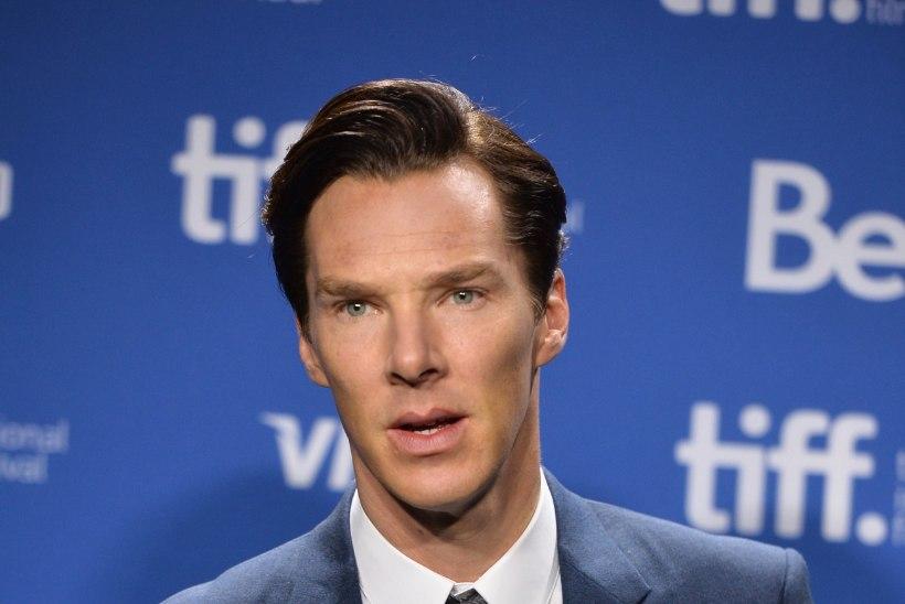 Benedict Cumberbatch: Julian Assange'i saadetud kiri võttis mul seest kõhedaks!