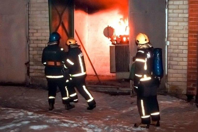 Lasnamäel plahvatas alajaam, kaks inimest said viga