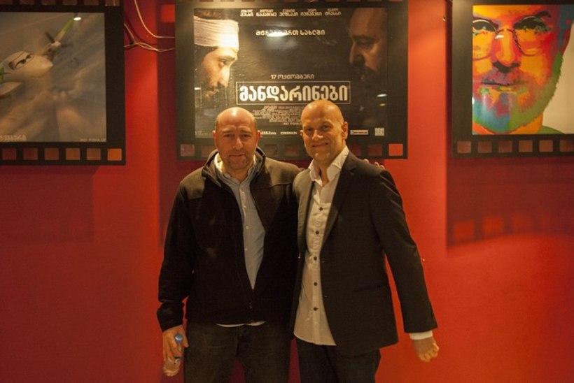 Eesti-Gruusia ühisfilmi «Mandariinid» esilinastus Thbilisis viis kinolt katuse