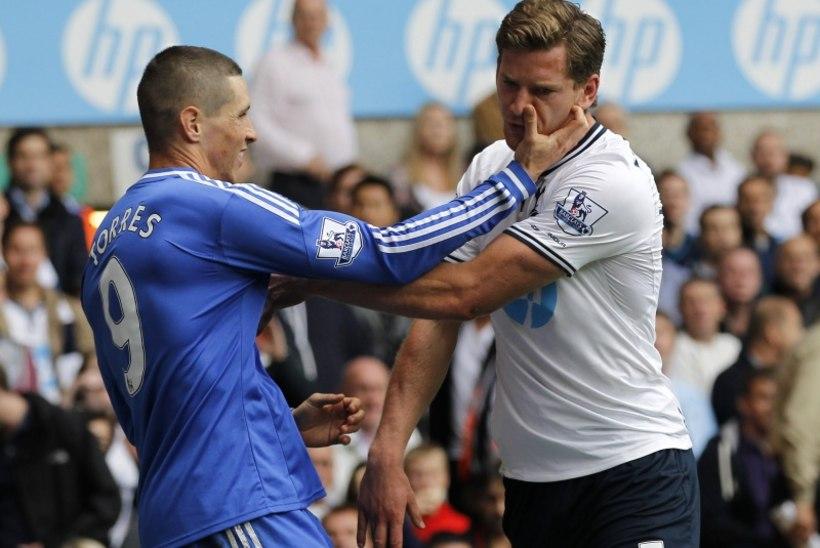 """Vastast """"masseerinud"""" Torres jäi karistuseta. Villas-Boas: """"See on teotus!"""""""