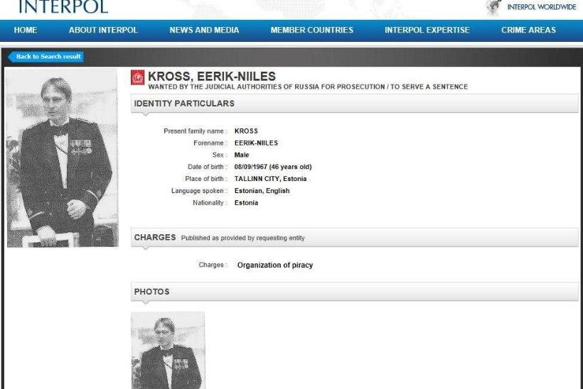 Rahvusvaheliselt tagaotsitav Kross: see on Venemaa provokatsioon