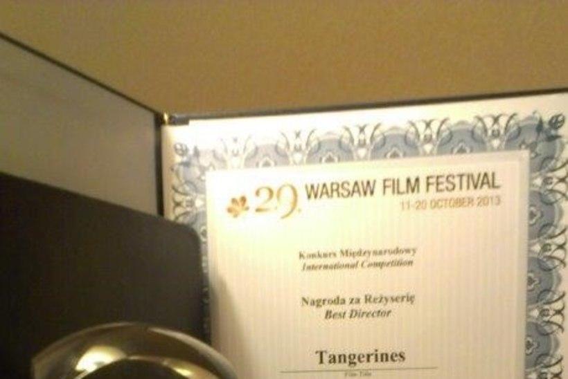 """""""Mandariinid"""" võitis Varssavi filmifestivalil režiipreemia ja publiku auhinna"""