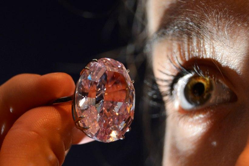 PILTUUDIS: selle roosa teemandi alghind on 43 miljonit eurot