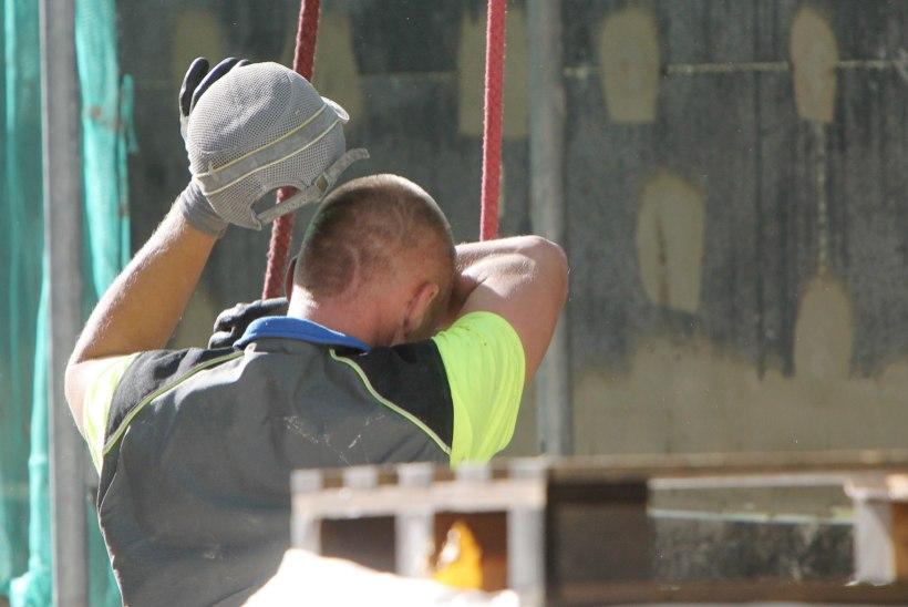 Ettevõtja: iga viies ehitaja võib hakata endale uut tööd otsima