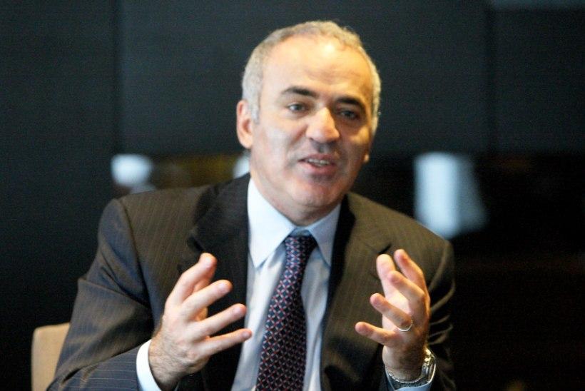 Putini kriitik Garri Kasparov: Tallinnas on mul hea emaga kohtuda