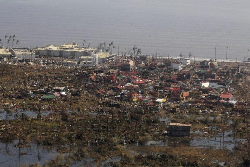 Eesti kodanikud Filipiinidel taifuunis kannatada ei saanud