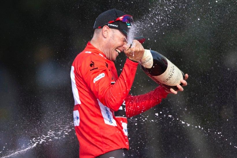 Vuelta võitjas kahtlejad said valusa ninanipsu