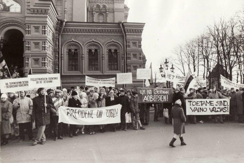 Täna 25 aastat tagasi: Eesti näitas iseolemise tahet
