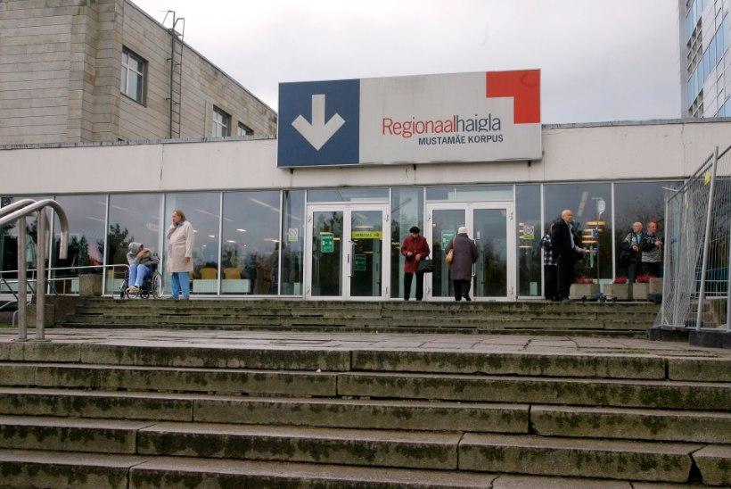 Bussi järsk pidurdamine lõppes ühele reisijale haiglaraviga