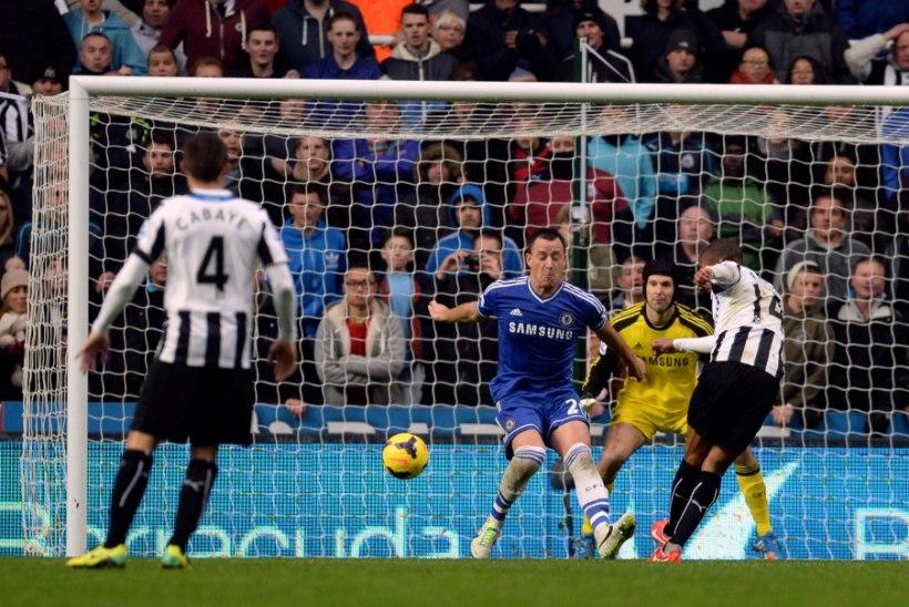 Chelsea sai valusa kaotuse Newcastle'i käest