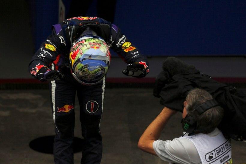 Vormel 1 hooaeg lõppes Brasiilias, võitis loomulikult Vettel