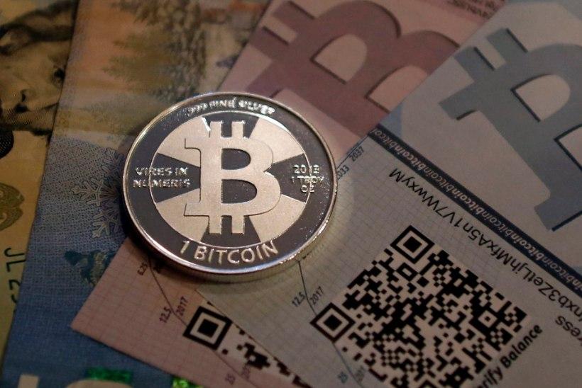 Mees heitis prügimäele 5,5 miljoni euro väärtuses virtuaalraha