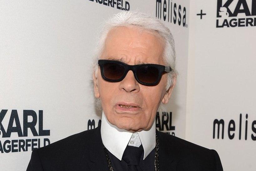Karl Lagerfeld: «Mitte keegi ei taha moelavadel näha kurvikaid naisi!»